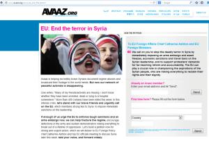 AvaazSyriaSanctions2
